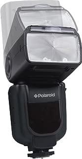 Polaroid Wireless Power Zoom Bounce & Swivel Flash With LCD For Canon, Nikon, Panasonic, Olympus SLR Cameras - GN58