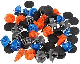 vbncvbfghfgh 150 pz//Set Rivetto Universale in Materiale plastico Rivestimenti portiera per Auto Clip per Fermagli per Auto Interni per Interni Chiusura per Fibbia Nero