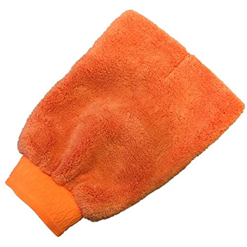 CR Waschhandschuh Orange Microfaser XL - schonende Reinigung mit CR Tuning