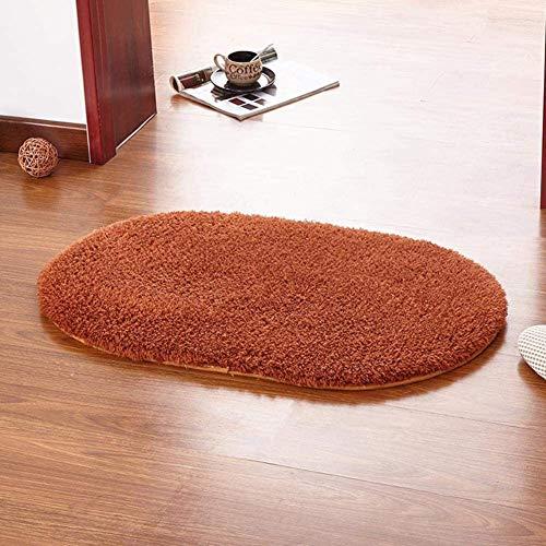 Absorberend Non-Slip Mat Tapijt Deur Van De Ingang Single Domestic Carpet Badkamer Absorberend Mat Voor Badkamer, Keuken Mat Anti-Slip, Wit Ivoor