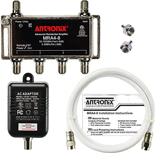 Antronix MRA4-8 4-Port Digital Signal Amplifier