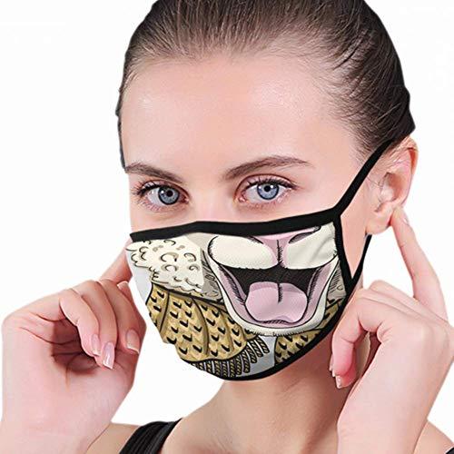 Mond Masker, Schapen Grijs Gebreide Hoed Sjaal Mond Cover,Veiligheid Mond Masker Covers Voor Unisex Motorfiets