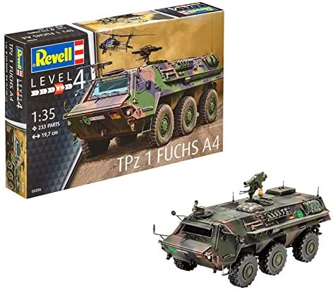 Revell- TPz 1 Fuchs A4 Maqueta de Tanque, (03256) product image