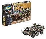 Revell Modellbausatz Panzer 1:35 - TPz 1 Fuchs A4 im Maßstab 1:35, Level 4, originalgetreue Nachbildung mit vielen Details, 03256 -