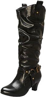 RizaBina Women Casual Slouchy Boots
