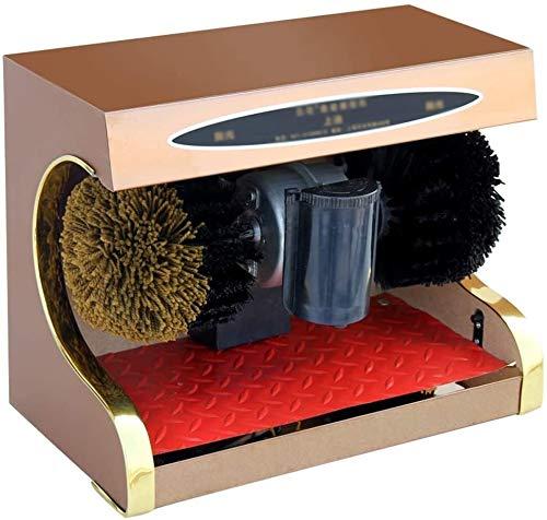 YWAWJ Betún automática de inducción eléctrica cepillo pulidor de zapatos zapatos zapatos de la máquina de zapatos, máquina de inducción automática, betún, máquina automática de cepillado de calzado el
