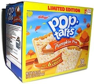 Kellogg's Pop Tarts Pumpkin Pie Limited Edition, 16-ct (Pack of 4)