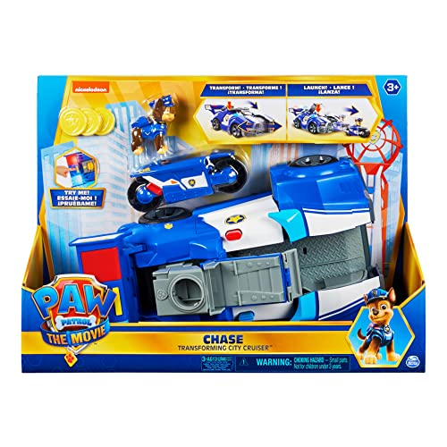 PAW PATROL Spin Master The Movie: Chase Transforming City Cruiser (6060759)