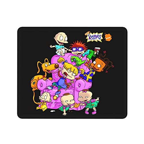 Shanke Rug-Rats Mouse Pad Gaming Mouse Mat Keyboard Pad Non-Slip Cute Art Print Mouse Pads for Computers Laptop.