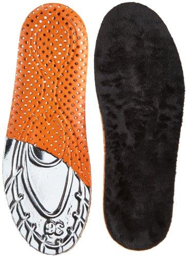 Salamander Professional Warm Footbed Einlegesohlen, Mehrfarbig (schwarz/orange/Silber 000), 41 EU