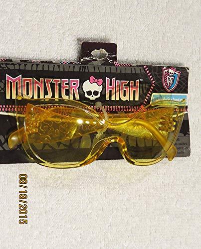 LUNETTE DE SOLEIL Jaune Clawdeen Wolf Monster High freakishly Fab Sunglasses