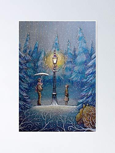AZSTEEL Narnia Magic Lantern Poster