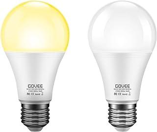 Govee Dusk to Dawn Light Bulb, 9W (70 Watt Equivalent) 800lm Smart Sensor LED Light Bulb,..