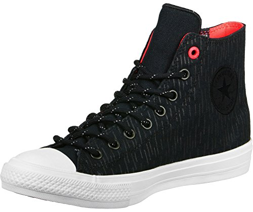 Converse All Star Ox Canvas Zapatillas Negras-UK 3.5 / EU 36