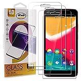 Guran 4 Paquete Cristal Templado Protector de Pantalla para Wiko Rainbow Jam Smartphone 9H Dureza Anti-Ara?azos Alta Definicion Transparente Película