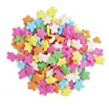 Dress My Cupcake Decorating Edible Cake and Cookie Confetti Sprinkles, Mini Flowers, 2.4-Ounce