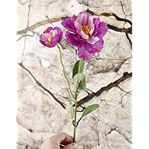 TIN-YAEN Artificial Flowers Artificial Flower Home Decor Artificial Flower, Two Rosemary, Fake Flower, Hair Accessory, Flower (10Pcs)