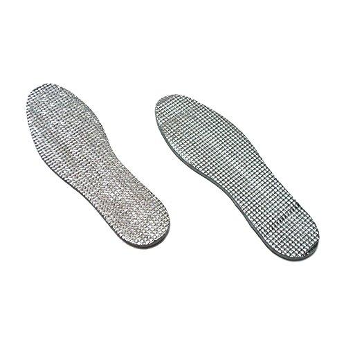 Alu Aluminium Einlegesohlen Schuheinlagen Einlagen Gr. 36 37 38 39 40 41 42 43 44 45 46 warm wärmend Thermo Fußwärmer Schuhsohlen Kälteschutz Nässeschutz