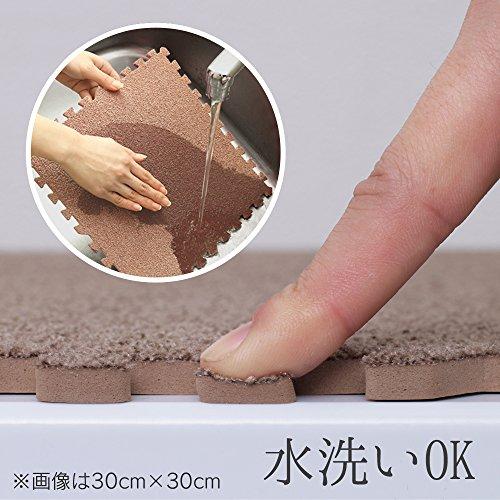 アイリスオーヤマ『ジョイントマット60×60cm(同色4枚セット)(JM-H6008NP)』