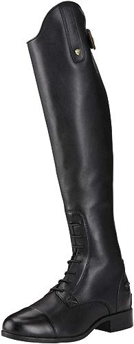 Ariat femmes Reitbottes New Heritage Contour II Field Zip noir, 3.5 (36.5), RS