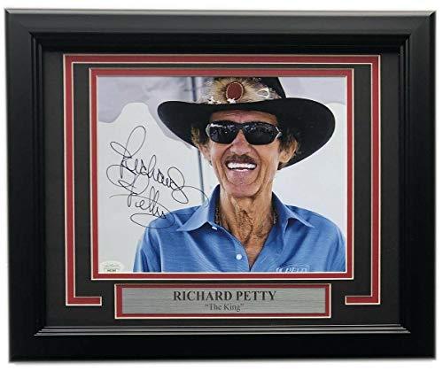 Richard Petty NASCAR Auto Racing Framed 8x10 Photograph Car #43