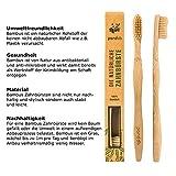 Zoom IMG-2 pandoo spazzolini manuali in bamb