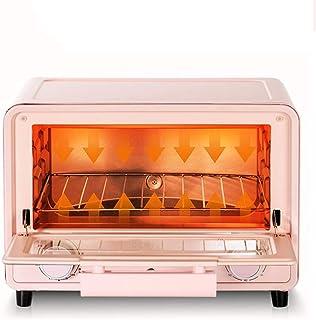 BTSSA Horno Eléctrico Multifunción De Sobremesa De 13 litros En Color Negro con 900W De Potencia. Ideal para Pizzas Y Pan,Tiempo hasta 60 Mins