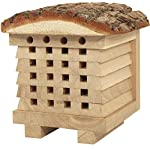 NEST TO NEST Solitary Bee House   Wild Bee Hotel For Garden   Bee Hive   Bee House For Garden, Premium Quality