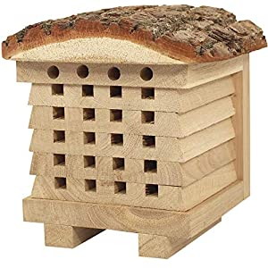NEST TO NEST Solitary Bee House | Wild Bee Hotel For Garden | Bee Hive | Bee House For Garden, Premium Quality