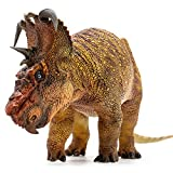 PNSO Dinosaurs Prehistoric Dinosaur Models Brian The Pachyrhinosaurus Animal Scientific Art Model Collector Toys for Ages 14 Years Old & Up