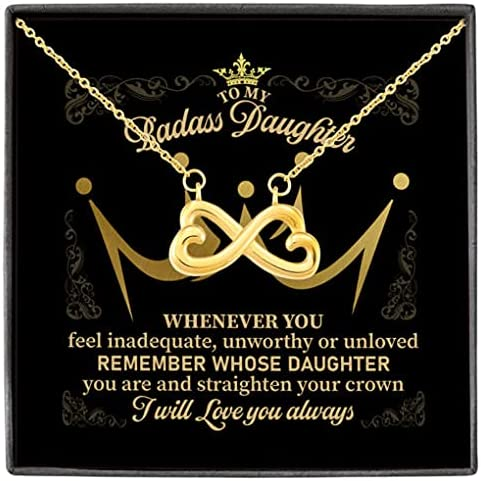 To My Badass Ranking TOP3 Daughter Now on sale Remember You Are Whose Straighten