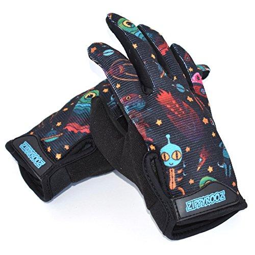 ZippyRooz Long Finger Bike Gloves | Amazon