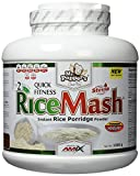 AMIX - Suplemento Alimenticio - RiceMash en Formato de 1,5 kilos - Gran Aporte Nutritivo y Saciante - Contenido Rico en Carbohidratos - Sabor a Fresa-Yogur