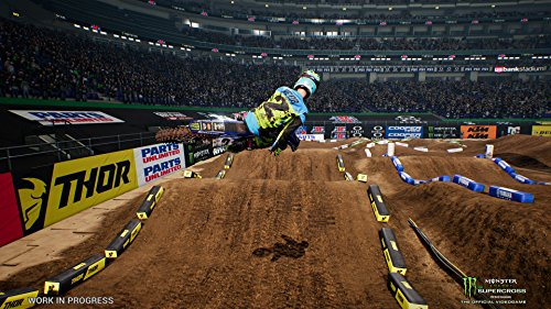 Monster Energy Supercross: The Official Videogame - Best Dirt Bike Games for Xbox One