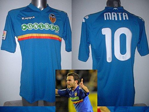 Kappa Valencia XL Juan Mata Manchester United BNWT - Camiseta de fútbol...