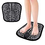 Charminer Fußmassagegerät, EMS Massagematte mit AAA-Batterie, Tragbares...