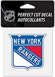 NHL New York Rangers Perfect Cut Color Decal, 4