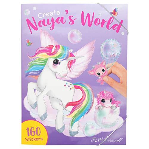 Depesche 11068 Malbuch Create Nayas World, Ylvi und die Minimoomis, ca. 33 x 25 x 0,8 cm