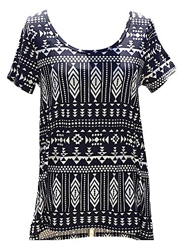 Lularoe Classic-t Small Black and White