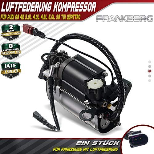 Frankberg Luftfederung Kompressor für A8 4E_ für Fahrzeuge mit Luftfederung 2003-2010 4E0616005E