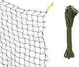 Trixie 44295 Schutznetz, drahtverstärkt, 8 × 3 m,...