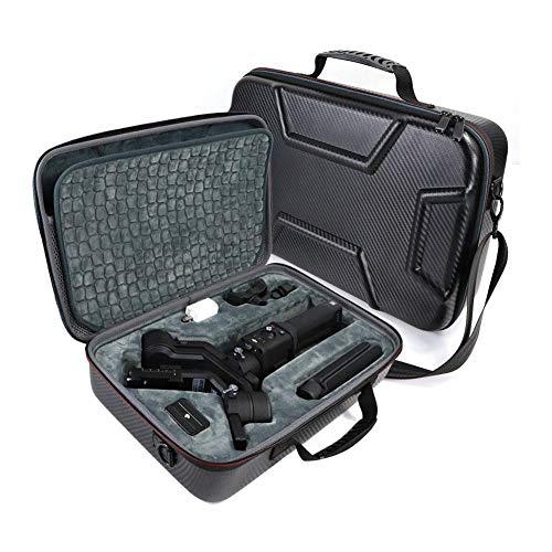 Williamly Custodia Rigida Impermeabile Inserto in Schiuma su Misura per DJI Ronin-S SC. Borsa portaoggetti Resistente per Sistema stabilizzatore, 41 x 25 x 9,8 cm.
