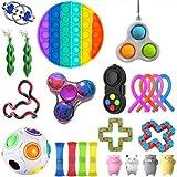 Jouets sensoriels, jouet anti-stress à presser Assortiment de jouets spéciaux pour enfants et adultes Party Favors Outil à main de décompression pour le TDAH Autisme Anxiété Meilleurs cadeaux