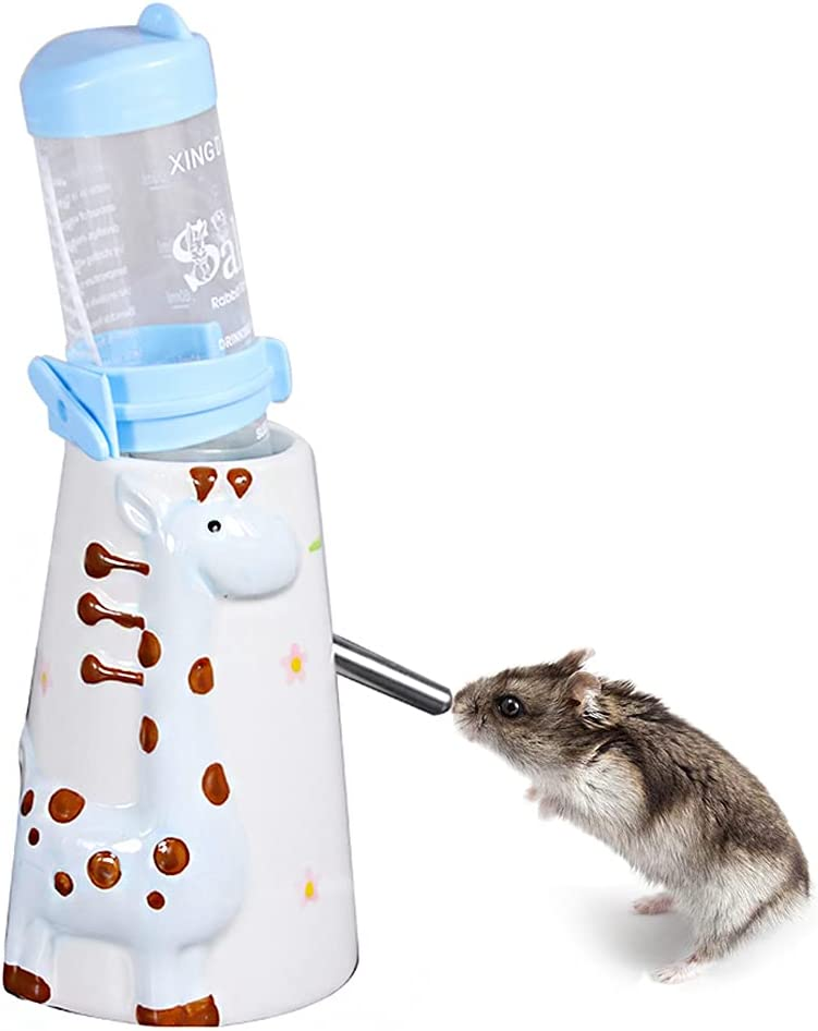 BIGCAKE Hamster Water Bottle Ceramics Animals Drip Nippon regular agency No Small Max 87% OFF Sta