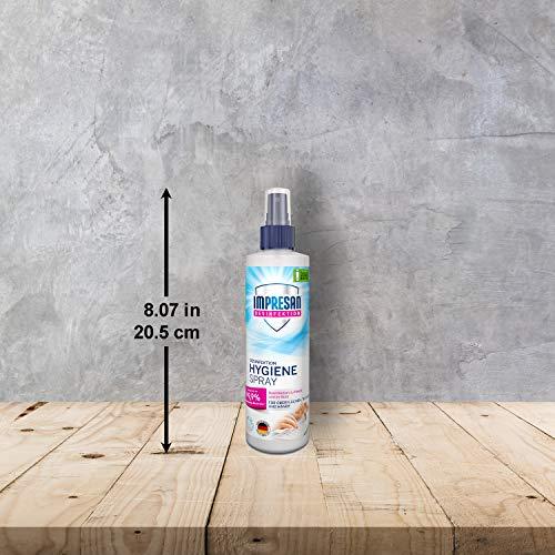 Impresan Hygiene-Spray: Desinfektionsspray für Oberflächen und Textilien - Desinfektions-Pumpspray - 6 x 250ml - 5