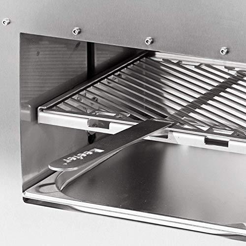 514870wh QL - Beefer Original XL   der echte 800 Grad Premium Oberhitze Gasgrill   Edelstahl, Hochtemperatur   Der Hochleistungsgrill für das perfekte Steak   MEHR Fläche für MEHR Fleisch