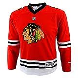 パトリック・シャープ ユースサイズ レプリカユニフォーム: リーボック レッド #10 シカゴ・ブラックホークス ユースサイズ レプリカユニフォーム L/XL レッド