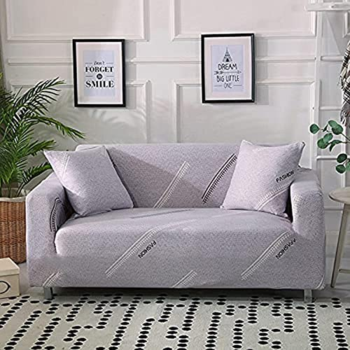 hd-3 Cubierta de sofá elástica geométrica para Sala de Estar, combinación Moderna, Cubierta de sofá de Esquina, Cubierta de sofá, Cubierta Protectora, A7, 1 Plaza