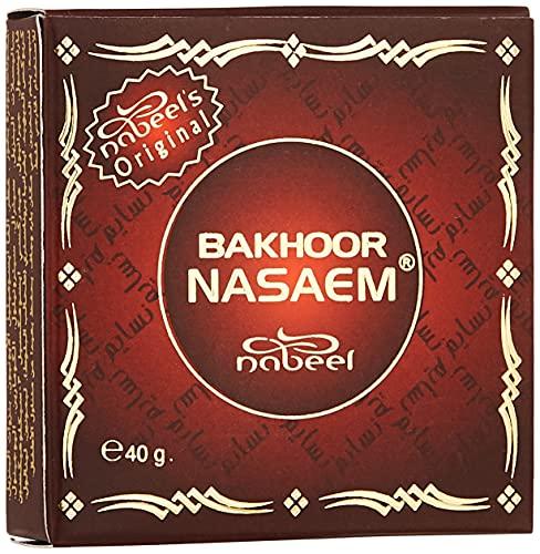 Nabeel Perfumes Heritage Collection Bakhoor Nasaem Incense 40 g Wh