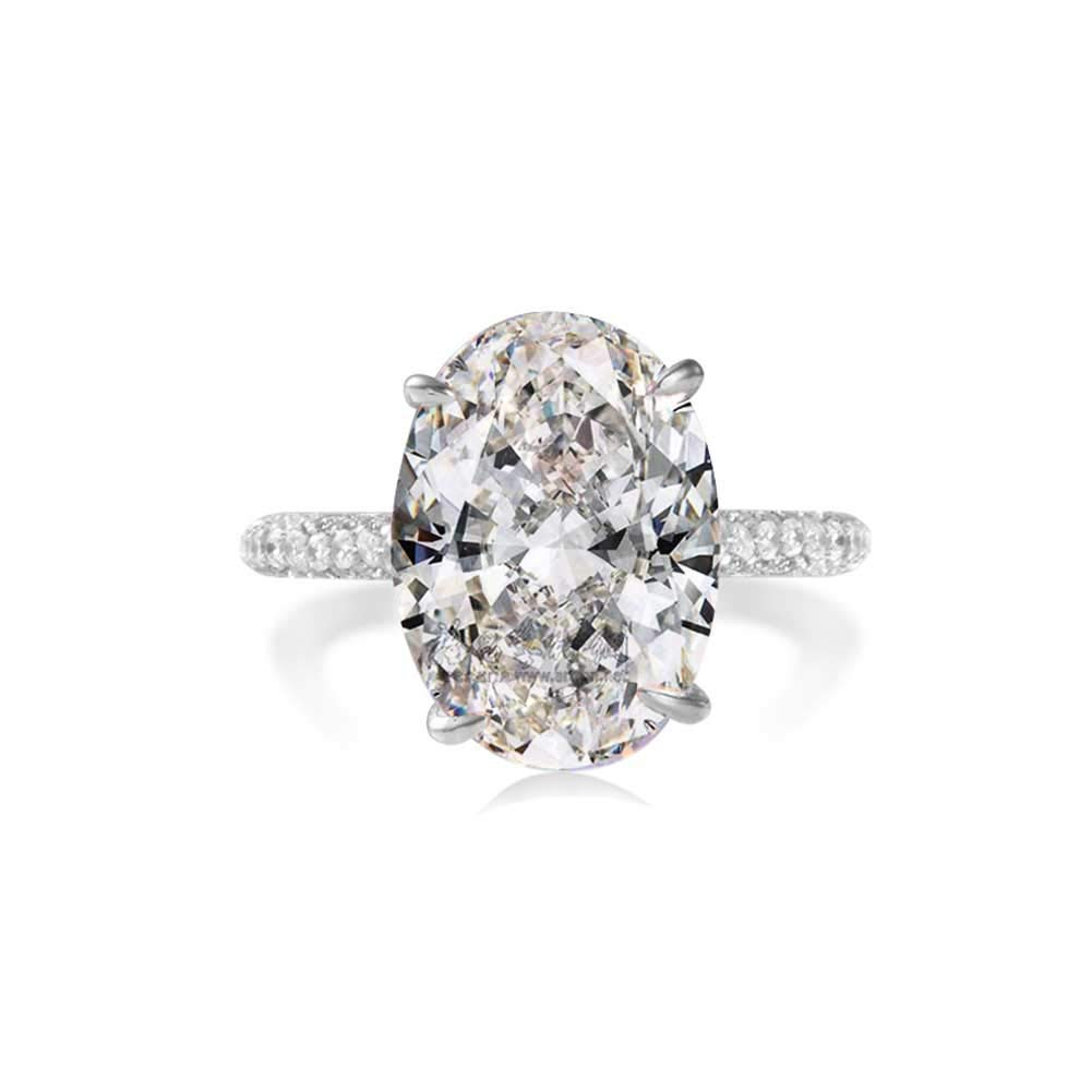 Bo Dream 5ct Solitaire Cubic Zirconia Engagement Ring 7 Buy Online In Bermuda At Bermuda Desertcart Com Productid 148642295